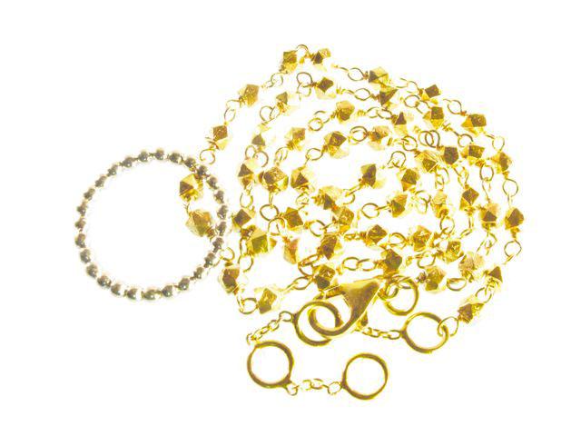 N8357 V Fine Beads Necklace