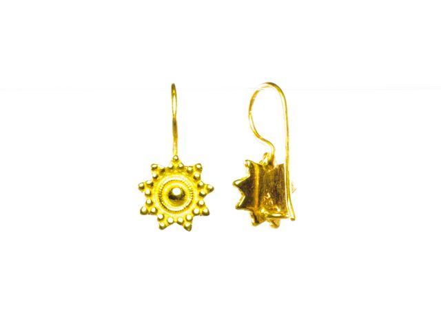 E479 V Etruscan Earring
