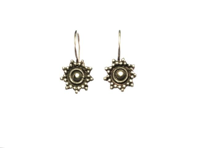 Etruskisch sterling zilver oorbellen E479-Z