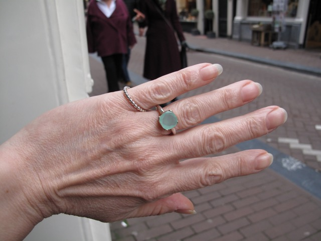 Chalcedony Ring R7705