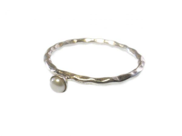 R1158-Z aanschuif parel ring