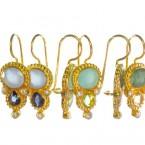 Zoet en zacht Etruskische oorbellen E13118