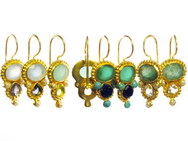 Zoet en zacht Etruskische oorhangers E13118