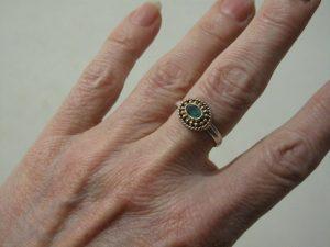 Asiatisch Etruskische Ring R1015