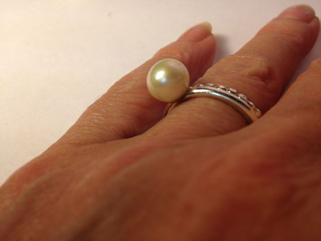 R1456 Z Sweetwater Pearl Ring