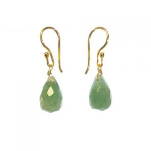 Jade Pear Drops Earrings – E1290
