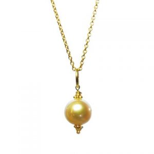 Freshwater White Pearl Pendant – P1001