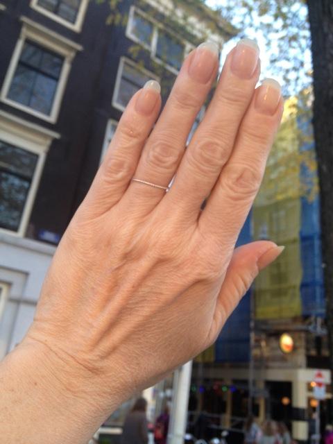 Hele Dunne Fijne Zilveren Ring R1599-Z