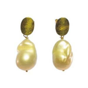 Earring Freshwater Natural Pearl Studs – E1510