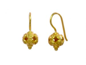 Asian Etruscan Small Earrings – E9531