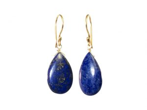 Tear Drop Earrings Cabochon Cut – E1415