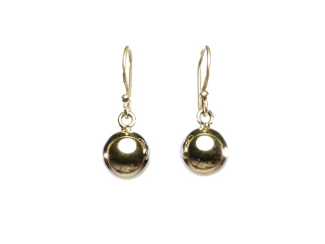 Ball Earrings Silver – E1354