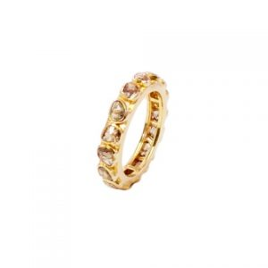 18k Gold Diamond Ring – R105