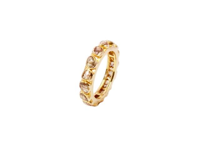 18k Gold Diamond Ring – R105