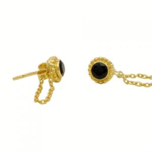 Small Stud Chain Earrings – E1610